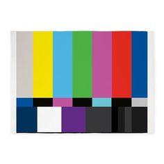 Large area rug -- SMPTE Standard Definition Television Color Bars EG on CafePress.com