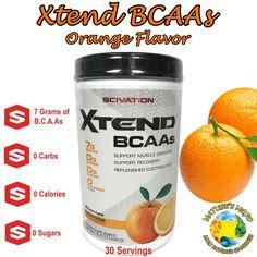 Xtend by Scivation BCAAs Orange Flavor 30 Servings