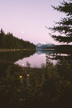 So peaceful looking. And the moon, so faint. Beautiful World, Beautiful Places, The Great Outdoors, Wonders Of The World, Mother Nature, Adventure Travel, Places To Go, Nature Photography, Scenery