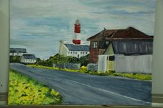 Struisbaai , the lighthouse, Margaret S End Of Year Party, Art Party, Lighthouse, Painting, Bell Rock Lighthouse, Light House, Painting Art, Lighthouses, Paintings