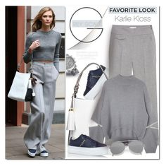 """Karlie Kloss inspire  - my favorite look"" by drn57 ❤ liked on Polyvore featuring Michael Kors, Kurt Geiger, MANGO and Acne Studios"