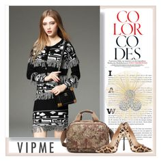 """""""VIPme 1/9."""" by adelisamujkic ❤ liked on Polyvore featuring Casadei, Tisch New York, women's clothing, women, female, woman, misses and juniors"""