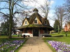 The Rest House on Bournville Green, Birmingham, UK