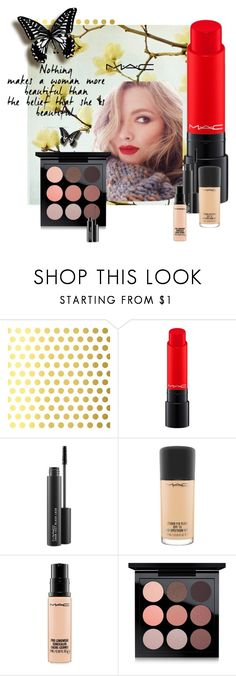 """""""Mac"""" by dudavagsantos ❤ liked on Polyvore featuring beauty, Vellum, MAC Cosmetics and macmakeup"""