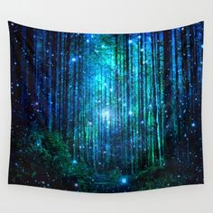 magical path Wall Tapestry *Size small for Loading Room?*