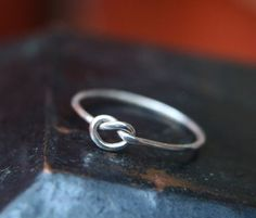 sterling silver ring - I want a simple yet beautiful ring like this :)