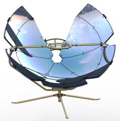 One Earth Designs' SolSource S2 - world's first temperature adjustable solar cooker!