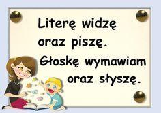 głoski Kindergarten Math, Preschool, Learn Polish, Polish Language, Primary Teaching, Kids And Parenting, Activities For Kids, Teacher, Classroom