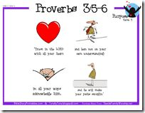 bible verse learning visuals for lil ones