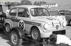 RSC Photo Gallery - Riverside 4 Hours 1966 - Fiat-Abarth 1000 no.63 - Racing Sports Cars