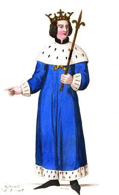 Philippe IV le Bel (1238-1314) accède au trône de #France à la mort de sont père Philippe III le Hardi, le 5 octobre 1285. Il est #roi à 17 ans. Pendant près de trente ans, il cherche à  consolider les #frontières du #royaume et tente de garder une distance acceptable avec le pouvoir religieux. Il s'écarte aussi des traditions féodales en se dotant d'une administration moderne et en faisant appel à des fonctionnaires zélés issus de la bourgeoisie #numelyo #couleur #bleu #color