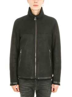 DROME DROMe Fur Black Jacket. #drome #cloth #