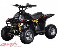 GMX Motorbikes 110cc-junior atv quad bikes black