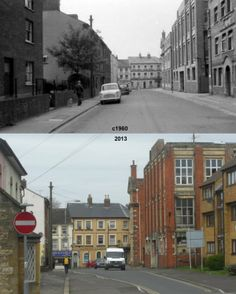 Newton Road Then & Now.