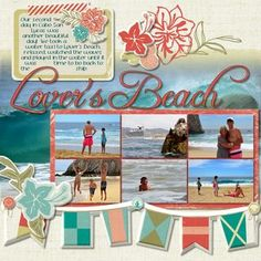 Beth Thomander- sunshine getaway - Creative Memories (BEACH)