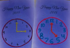 New Years Countdown Clock for Kids - Fine motor activity for each hour!