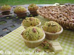 Lory B. Bistrot: Muffin Pistacchio e Cioccolato bianco