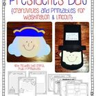 {Updated on 12/28}Celebrate President's Day in your classroom!  Your kiddos will make adorable George Washington and Abraham Lincoln crafts, as w...