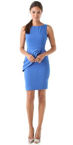 Love this dress and it's almost even cuter in the tiffany blue than this royal powder blue!