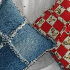 Denim Pillows: Recycle your denim jeans for fun    Read more: http://www.infobarrel.com/Denim_Pillows%3A__Recycle_your_denim_jeans_for_fun#ixzz1fglPhXZk