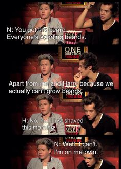 Awe! Poor Niall... One Direction Funny Moments of 2013 | Funny Interview | ONE DIRECTION Interview: Harry Styles, Niall Horan, Zayn Malik, Liam Payne & Louis Tomlinson | Niall Horan | Harry Styles