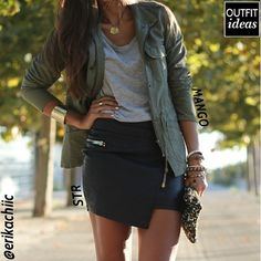 Collection Leather Asymmetrical Skirt Pictures - Kianes
