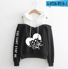 BTS IDOL Cute Girls pattern printing Women's Fashion Winter/Autumn Casual Hoodiesuotelab - bts clothes - Best Of Women Outfits Teen Fashion Outfits, Kpop Outfits, Kpop Fashion, Cute Fashion, Casual Outfits, Fashion Dresses, Fashion Clothes, Street Fashion, Fashion Online