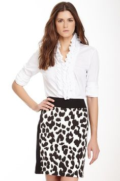 Ruffle Shirt by paperwhite Collections on @HauteLook
