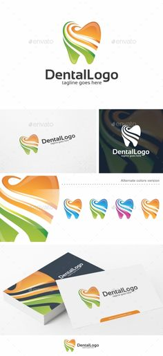 Dental Logo  Logo Template — Vector EPS #health #modern • Available here → https://graphicriver.net/item/dental-logo-logo-template/15853607?ref=pxcr