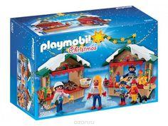 Купить Playmobil Игровой набор Рождество Рождественская ярмарка - детские товары Playmobil в интернет-магазине OZON.ru, цена playmobil игровой набор рождество рождественская ярмарка