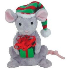 TY Beanie Baby - TINY TIM the Mouse (Internet Exclusive)