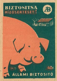 hungarian matchbox label by maraid Vintage Labels, Vintage Ads, Vintage Posters, Matchbox Art, Light My Fire, Retro Illustration, Illustrations And Posters, Surface Pattern, Vintage Advertisements