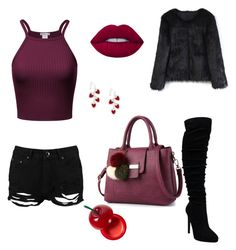 """""""Untitled #2"""" by medina-besic ❤ liked on Polyvore featuring Boohoo, Chicwish, Lime Crime and TONYMOLY"""