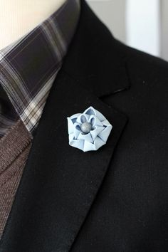 A personal favourite from my Etsy shop https://www.etsy.com/listing/198961397/flower-lapel-pin-mens-lapel-flower