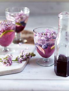 homemade lilac soda