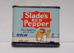 Slade's Red Pepper.