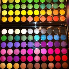 Some of my new eyeshadow colors!!