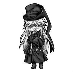 Undertaker - Kuroshitsuji,Black Butler Chibi