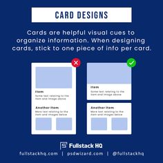 Consider how you design your cards so it's easier for users to understand! 🤓 … Think about how to design Web Design Quotes, Web Design Tips, App Ui Design, Web Design Trends, Web Design Tutorials, Flat Design, Web Design Agency, Web Design Services, Web Design Company
