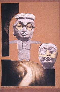 Collage 1922 by Hannah Höch (1889-1978) German Dada artist