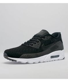 7527ac955acfb Nike Air Max 90 Ultra Breathe Black And White Shoes Sale