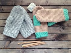 Get hands-on with your crocheting! Work up one of these crochet mitten patterns, whether you like simple, no-fuss mittens or ones with a creative twist.