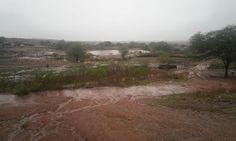 TUDO DE SEVERIANO MELO : Açude Malhada Vermelha recebeu bastante água da ch...
