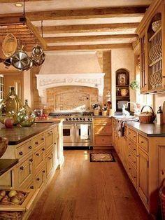 Italian kitchen decorating ideas italian style home decor rustic italian de Italian Style Kitchens, Italian Style Home, Italian Kitchen Decor, Rustic Kitchen Decor, Home Decor Kitchen, Country Kitchen, Kitchen Ideas, Tuscan Kitchens, Kitchen Wrap