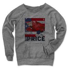 David Price Box R Boston Officially Licensed MLBPA  Women's MANIAC Sweatshirt S-XL