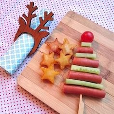 ideas appetizers for party easy potato Christmas Party Food, Xmas Food, Christmas Appetizers, Christmas Cooking, Noel Christmas, Simple Christmas, Christmas Treats, Snacks Für Party, Appetizers For Party