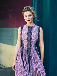 Kirsten Dunst, photographed by Bjorn Iooss for The Edit, Nov 12, 2015.