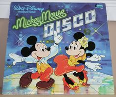 Mickey Mouse Disco. Loved this album when I was about six.