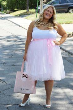 Society+ Pink Plus Size Tutu