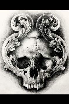 Pin on Totenkopf tattoos Skull Tattoo Design, Skull Design, Skull Tattoos, Body Art Tattoos, Hand Tattoos, Sleeve Tattoos, Tattoo Designs, Tattoo Sketches, Tattoo Drawings